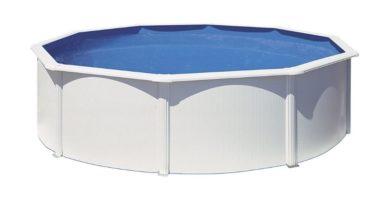 piscina fidji acero redonda