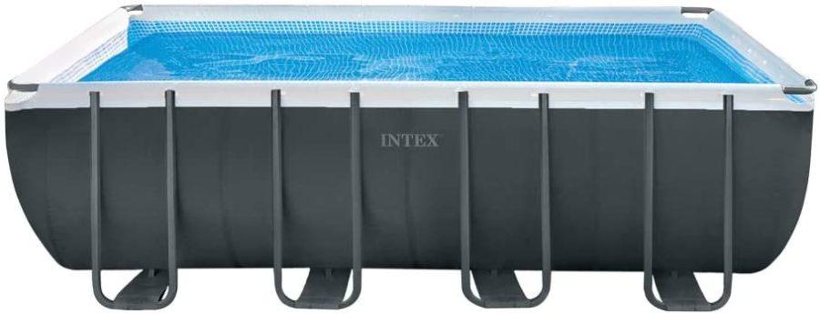 piscina desmontable tubular pvc rectangular intex 549x274x132 cm