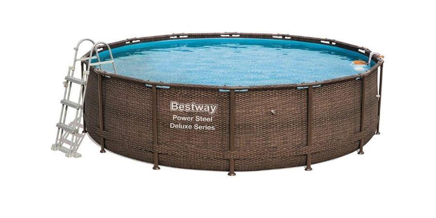 piscina tubular oval 427x250x100 cm